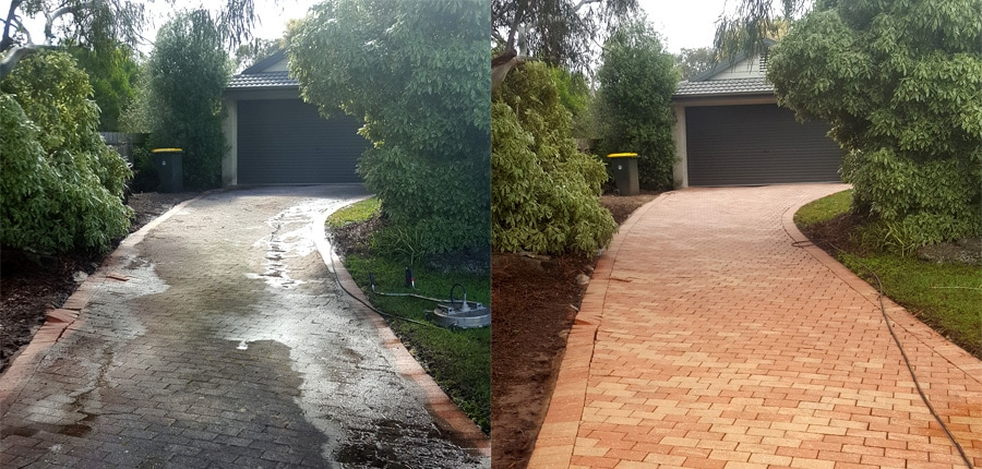 driveway cleaning, pavers