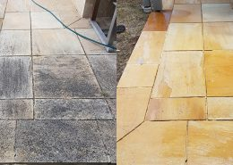 natural stone cleaning sandstone pressure cleaning business