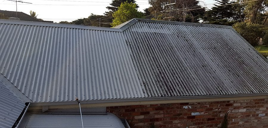 roof cleaning colorbond