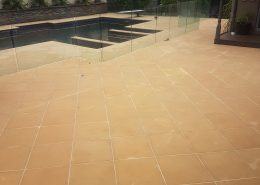 Pool cleaning, pavers