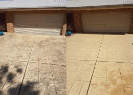 pressure cleaning business, driveway cleaning coloured concrete, pressure cleaning business