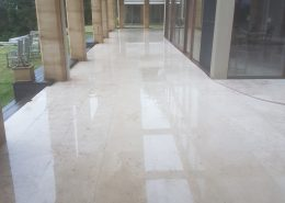 travertine pressure cleaning business